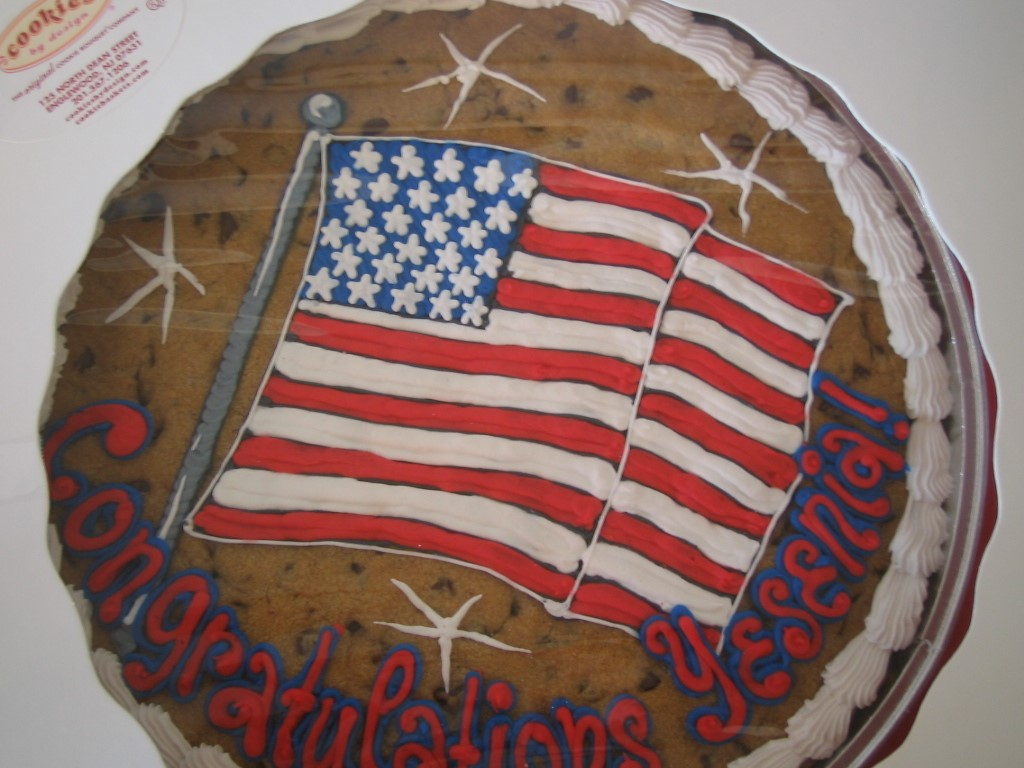 AMERICAN FLAG PAN COOKIE