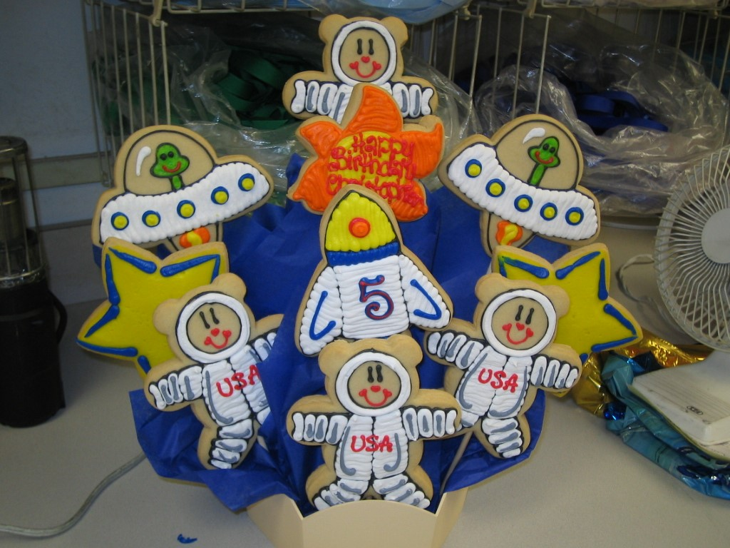 Professions cookies by design englewood nj cookie gift baskets astronomer negle Image collections