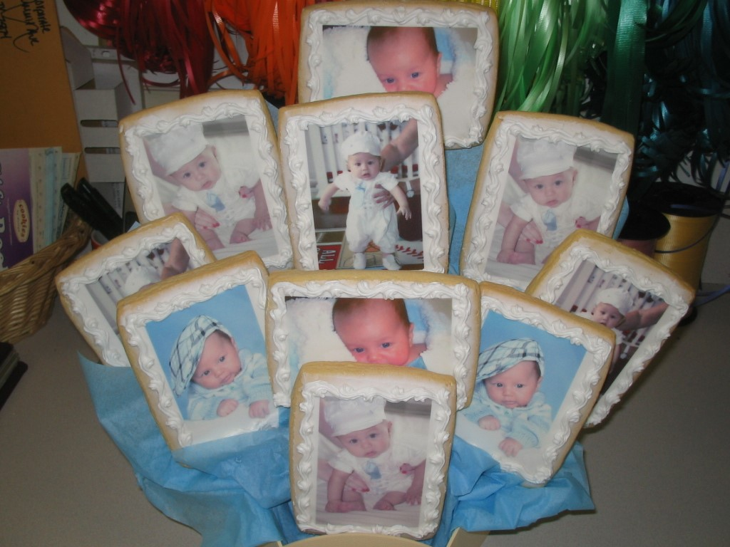Birthdays events and favors cookies by design englewood nj baby boy scans negle Gallery