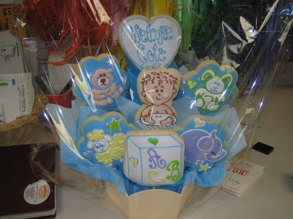 Babies showers and baptisms cookies by design englewood nj baby boy negle Image collections