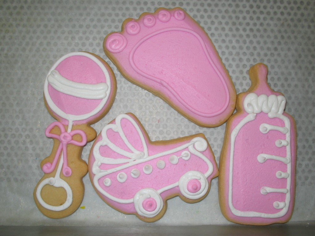 Birthdays events and favors cookies by design englewood nj baby favors pink negle Image collections