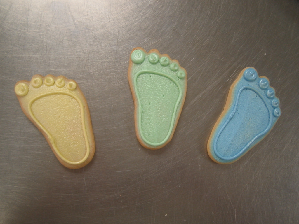 BABY FEET FAVORS PASTEL