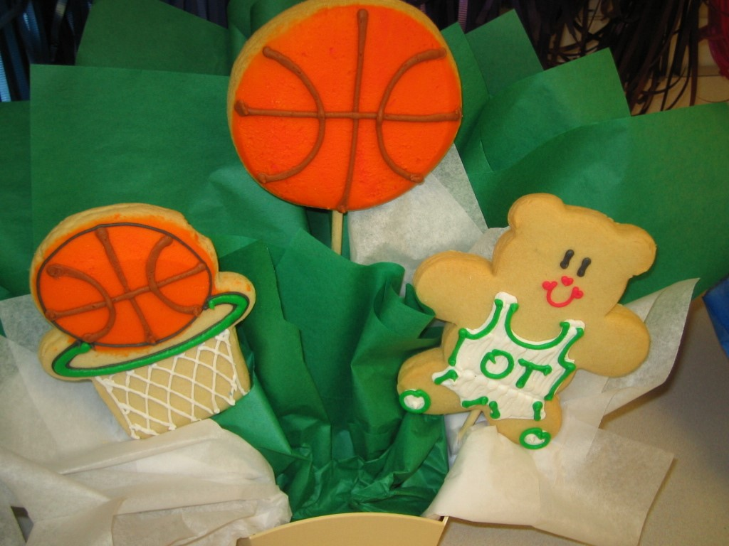 BASKETBALL - THREE COOKIE