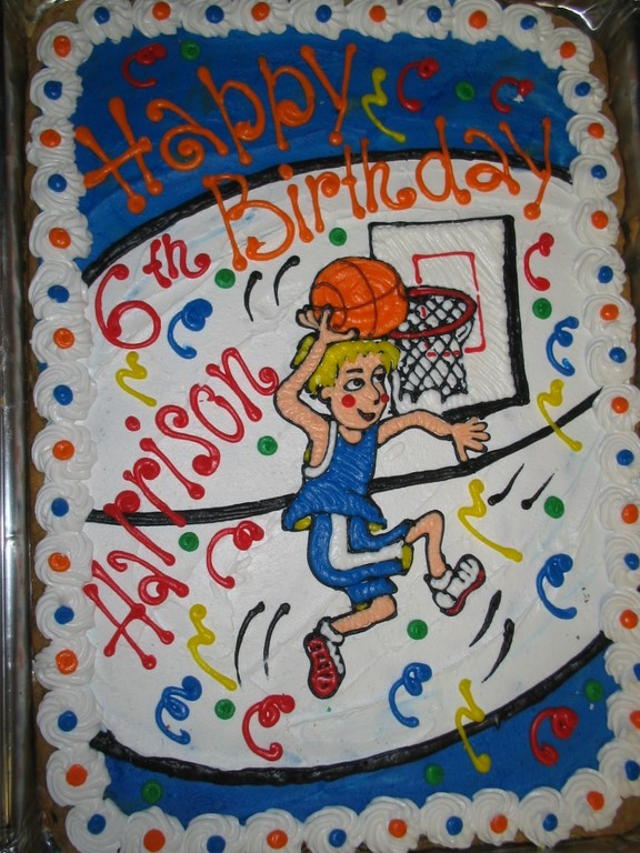 BASKETBALL SHEET COOKIE