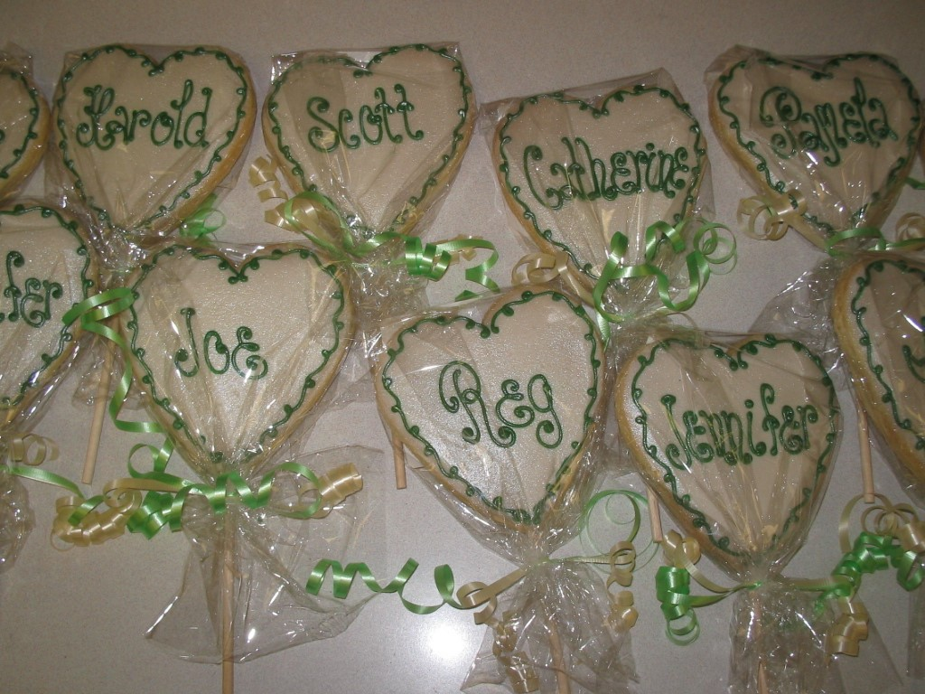 HEART STICK FAVORS