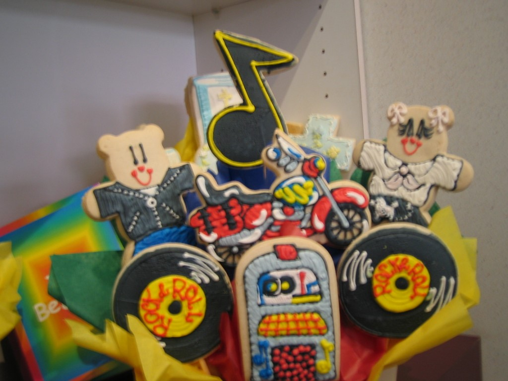 Jukebox motorcycle 685 cookies by design englewood nj cookie jukebox motorcycle negle
