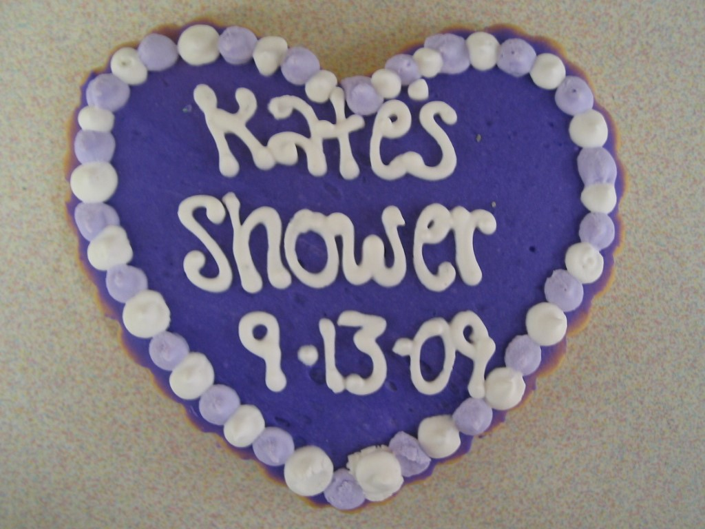 KATES SHOWER HEART